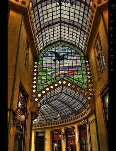 Pasajul Vulturul Negru, - in Oradea, Romania. Beautiful Places To Visit, Wonderful Places, Places To See, Art Nouveau, Art Deco, Visit Romania, Adventure Bucket List, Bucharest, World Of Color