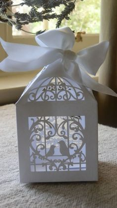 120 wedding Cage boxes no included ribbon by mooncakeshop on Etsy, $68.00