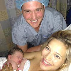 Michael Buble & Wife Luisana Lopilato Welcome A Baby Boy