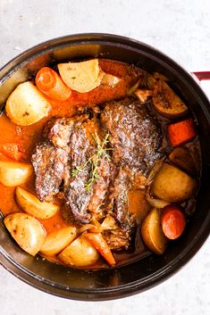 The Best Whole30 Pot Roast - The Defined Dish Recipes Paleo Whole 30, Whole 30 Recipes, Beef Dishes, Food Dishes, Clean Eating Snacks, Healthy Eating, Healthy Food, Paleo Recipes, Dinner Recipes