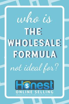 Should you buy the Wholesale Formula? Is this wholesale buying to resell course . Make Money On Amazon, Make Money Fast, Make Money From Home, Make Money Online, Diy Jewelry Projects, Diy Jewelry Findings, Jewelry Supplies, Jewelry Tools, Jewelry Making