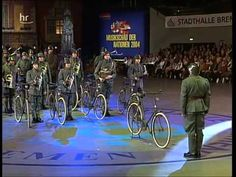 ▶ The Dutch army bicycle band - YouTube