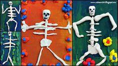 Art Room 104: 1st Grade Day of the Dead Skeletons