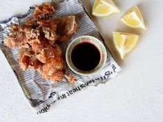 Japanese karaage or deep fried chicken  -Probably wouldn't deep dry mine, just marinade it and bake or grill
