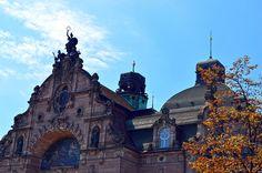 https://flic.kr/p/RpZyef | Nürnberg (Deutschland) - Richard Wagnerplatz - Opera - 1 | Pictures by Björn Roose. Taken in Nürnberg (Deutschland) in August 2016.