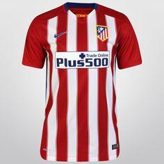 Una nueva temporada empezará, y el conjunto colchonero buscará una vez más consagrarse campeón de la liga española. Para ello llega el Jersey Nike Atlético de Madrid Casa 15/16 s/n°.