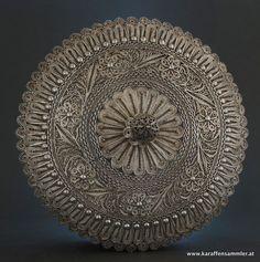 arabic filigree silver box