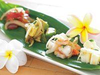 「ポケ」「もちこチキン」「スパムむすび」と日本でも人気のハワイアンフードをおうちで作ろう。