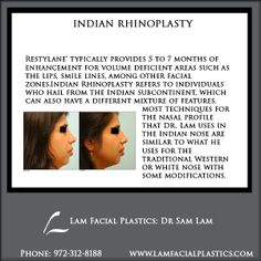 Indian Rhinoplasty refers to individuals who hail from the Indian subcontinent, which can also have a different mixture of features. Indian Rhinoplasty procedures are performed @LamFacialPlastics by Dr Lam in Dallas, Texas. #LamFacialPlastics #DallasPlasticSurgery #PlasticSurgery #DrSamLam  #Rhinoplasty #NoseJob