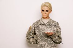Miss Kansas, Theresa Vail, has tattoos, enjoys hunting, and serves in the National Guard.  Her determination to break stereotypes is so motivating.