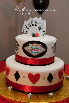 Event Photography by Ines Lynn Photography in the Miami, FL area. Casino party idea. Casino cake ideas.