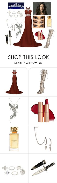 """""""The King's Sister-Princess Of Gondor"""" by e-sekovanikj ❤ liked on Polyvore featuring Sophia Webster, Carolina Glamour Collection, Tory Burch, French Connection and Charlotte Russe"""