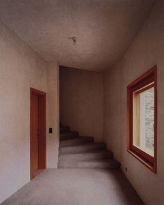 Architects: Miller&Maranta Location: Castasegna, Switzerland Year: 2004 Photographs: via Villa Garbald Miller Maranta, Work Images, Hostel, Pavilion, Swimming Pools, Villa, Stairs, Architecture, Interior