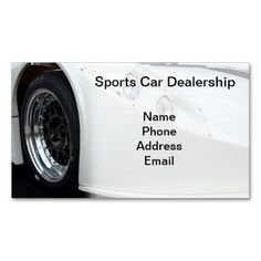 306 best automotive business card templates images on pinterest sports car dealership business cards business card templates business card design business cards wajeb Choice Image