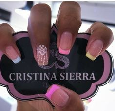 Colorful Nail Designs, Nail Art Designs, White Nails, Pink Nails, Gorgeous Nails, Pretty Nails, Beauty Nails, Hair Beauty, Elegant Nails