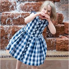 We're shouting it from the rooftops!  The Picknick  Dress is almost here!  #sewingpattern #sewingforgirls  #kidfashion  #sewing #sewingproject