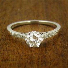 simple and classic. Wedding rings get so crazy sometimes