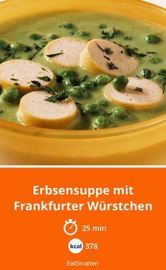 Erbsensuppe mit Frankfurter Würstchen - smarter - Kalorien: 378 kcal - Zeit: 25 Min.   eatsmarter.de