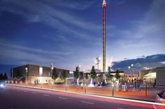 Rhyl's Sky Tower to be illuminated into a Light Beacon — North Wales Caravan Holidays — Parks & Homes — Lyons Holiday Parks Caravan Holiday Parks, Visit Wales, Park Homes, Where To Go, Cn Tower, Night Life, Tourism, Places To Visit, Sky