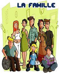 En este artículo conoceremos mediante ejemplos sencillos y pronunciación en audio a los miembros de la familia en francés o La famile.
