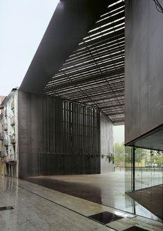 Public Space Teatro La Lira, Ripoll, Girona, Spain by RCR Arquitectes