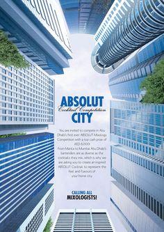 Metáfora - Gestalt dos prédios, vistos por baixo, formando a garrafa. Metonímia - Prédios representando a cidade. (Beatrice Vieira)