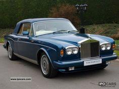 1991 Rolls Royce Corniche III convertible - Car Photo and Specs Bentley Rolls Royce, Rolls Royce Cars, Convertible, Rolls Royce Corniche, Rolls Royce Silver Cloud, Bentley Mulsanne, Bentley Car, Automobile, Classy Cars