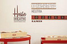 Heath house numbers $45