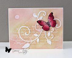 Yours Truly: Butterfly Flourish
