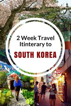 Two Week Travel Itinerary for South Korea