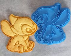 Disney Stitch Cookie Cutter by CrimsonManeCreations on Etsy