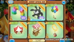 Summer Carnival 2016 Guide, Tips & Cheats for Tickets animal-jam-summer-carnival-2016-shop-2  #AnimalJam #Games #SummerCarnival http://www.animaljamworld.com/summer-carnival-2016-guide-tips-cheats-for-tickets/