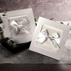 Elegante de la cinta de invitaciones de boda cards+envelopes/1017 - spanish.alibaba.com