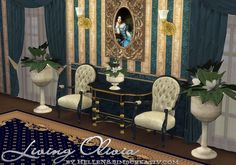 Sims Creativ: Living Olivia by HelleN • Sims 4 Downloads