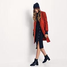 VITEA bloucle jacket, VISOLDANA l/s knit dress & VIBERNIE hat ✨