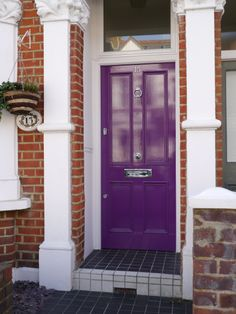 The London Door Company \'Storm Blue\' paint colour - Gloss | Home ...