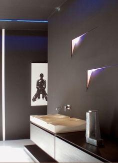 Notas de luz en el baño  #Iluminación  #Lighting