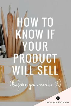 Testing the market before you release a product is a very good idea. It's a step that a lot of people skip, and to be honest, it's not something that I did in the beginning either, but now that I know better, it's very helpful. It is especially important if you are creating a product that requires a lot of upfront costs. Here are some of the best ways to test the market before you go all-in with a product line. POP-UP SHOPS A pop-up shop is simply a temporary brick and mortar