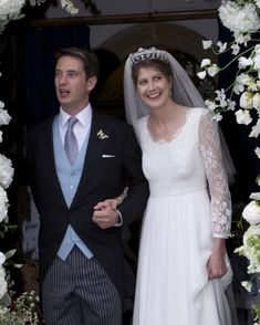 Princess Florence von Preussen (or Florence : Princessin von Preussen, or Florence von : Preussen) was married yesterday to the Hon. : James Tollemache. I found one photograph. :