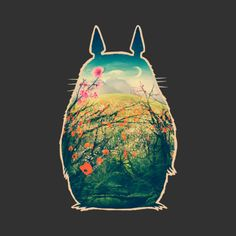 Tonari No Totoro is a Tank Top designed by victorsbeard to illustrate your life and is available at Design By Humans