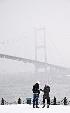 winter in istanbul