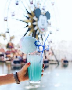 """Cove Bar Disneyland, food, places to eat  Pixie Darlings (@pixiedarlings) on Instagram: """"This was our FIRST time at the Cove Bar, and we were not disappointed. The Cotton Candy Lemonade…"""""""
