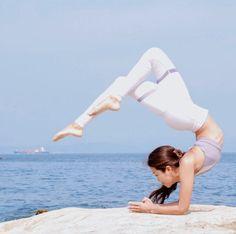 forearm stand | #yoga