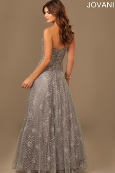 Jovani 98759 Evening Dress A-line Silhouette
