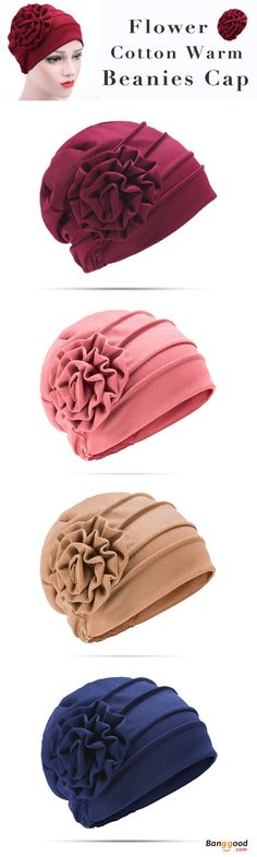 59%OFF&Free shipping. Women Hat, Beanies Cap, Solid Windproof Hat, Elegant&Flower Pattern. Color: Black, White, Khaki, Navy, Red Wine, Watermelon Red. Shop now~
