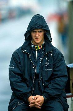 1990 Monza Group C race. Mercedes .Michael Schumacher