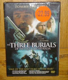 Tommy Lee Jones The Three Burials DVD Brand New Sealed in Protective Plastic
