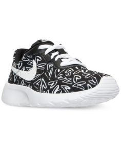 """Nike Little Girls' Tanjun Print Casual Sneakers from Finish Line $54.99 Meaning """"simplicity"""" in Japanese, the Tanjun sneaker from Nike takes a simple aesthetic to premium new levels. Modern and comfortable, this sneaker has a clean look for everyday."""