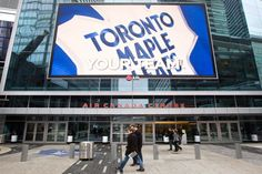 Toronto Maple Leafs are finally back to playing hockey in Toronto. Air Canada centre will soon be buzzing with hockey fans from King West and everywhere! Air Canada Centre, Toronto Raptors, Toronto Maple Leafs, Nhl, Ontario, Leaves, City, Twitter, Wednesday