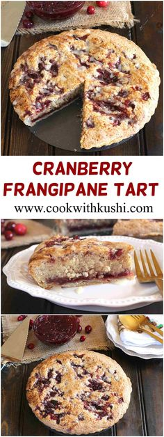 Cranberry Frangipane